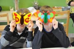 27 Grünes Klassenzimmer - Schmetterling basteln (44)