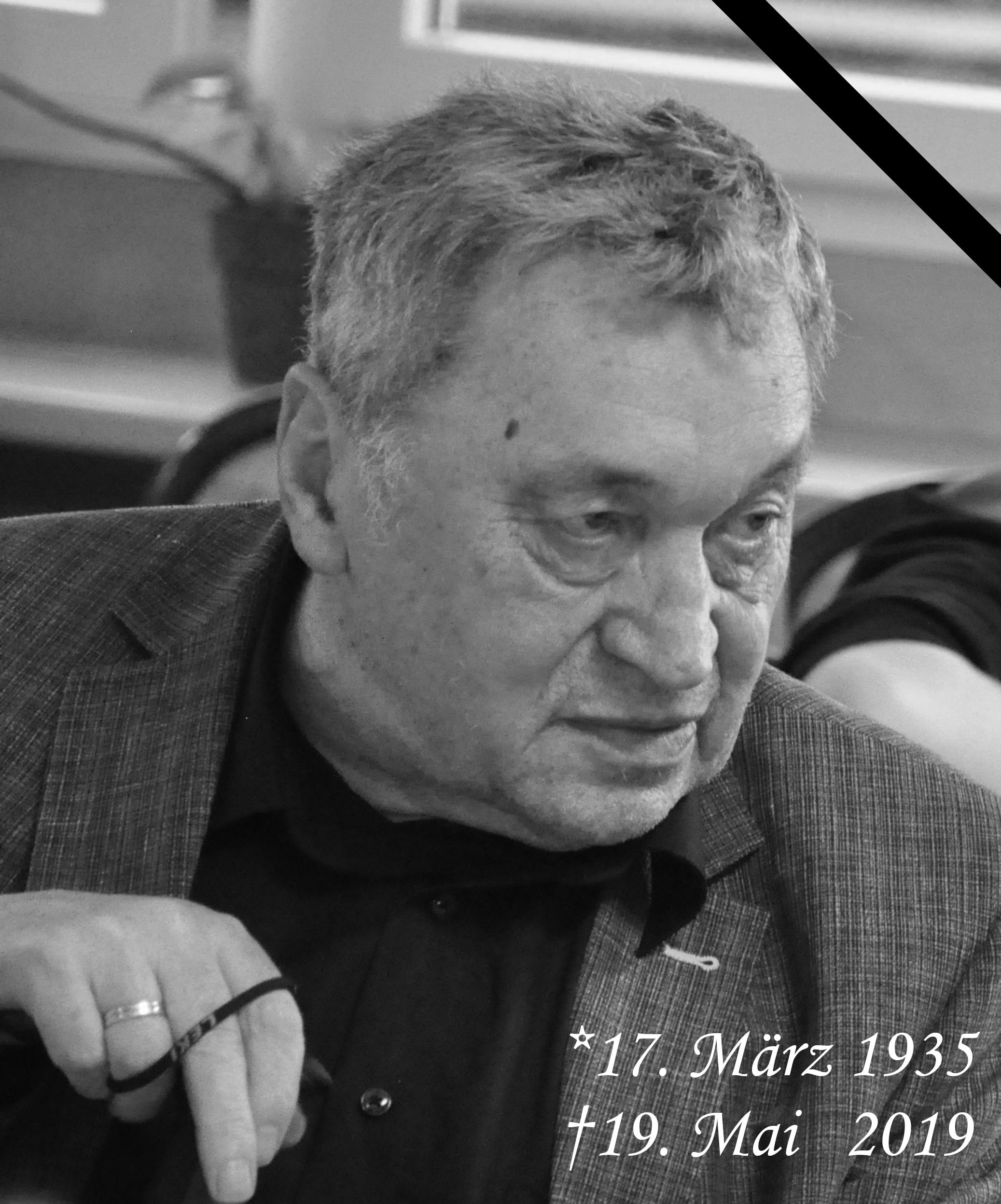Abschied von Erhard Menz