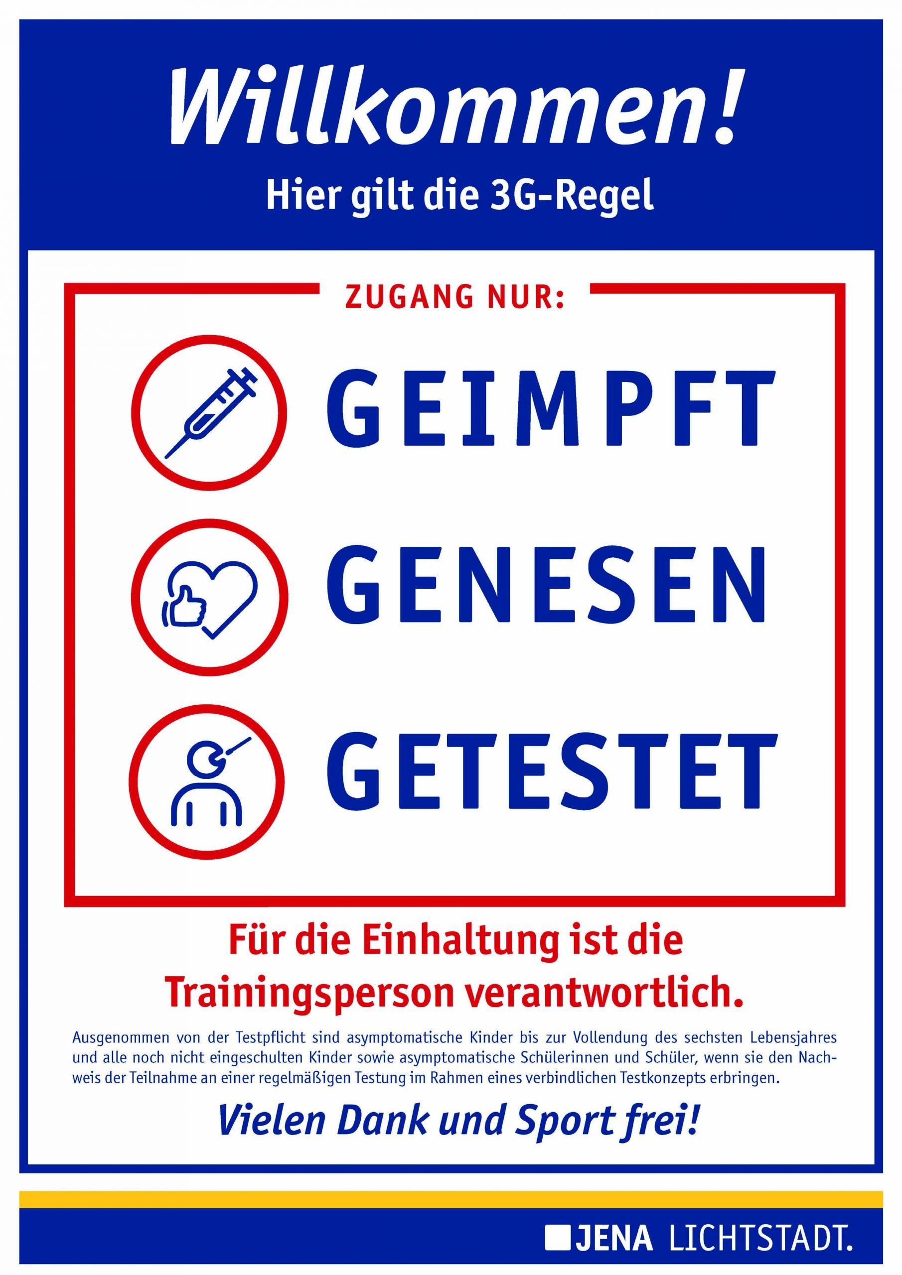 Warnstufe 2 in Jena